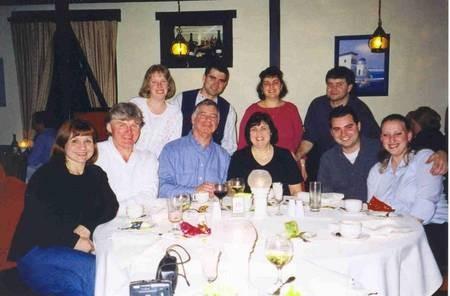 Professor Harry Poulos, AM, BE PhD DScEng, FIEAust FASCE FAA - Harry Poulos Family-2002