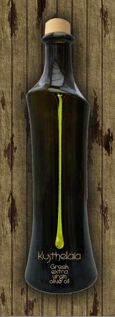 Kythelaia - Extra Virgin Olive Oil - forebay