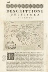 1588 Page of Atlas by Porcacchi