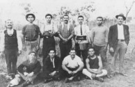 Cane gang at Childers, c.1918.