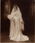 Helen Levantis, on her wedding day. Goulburn. NSW.