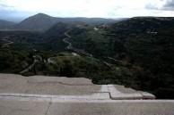 Earthquake of 8.1.2006 – Looking across Mitata square towards Viaradika