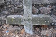 Worn Koronaiou marker, Potamos cemetery (1 of 2)