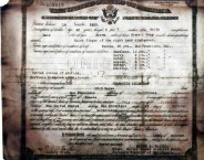 Certificate of USA Naturalization for Diamantis Chlentzos, 1917