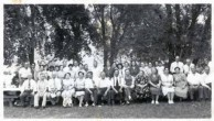 Kytherians in Detroit Mich. Picnic 1945