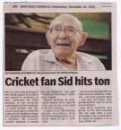 Another Brisbane Centenarian - congratulations!