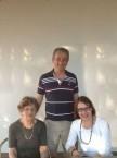 Helen Psaltis (nee Trefilly), Kos Psaltis and Joanne Psaltis (nee Flaskas)