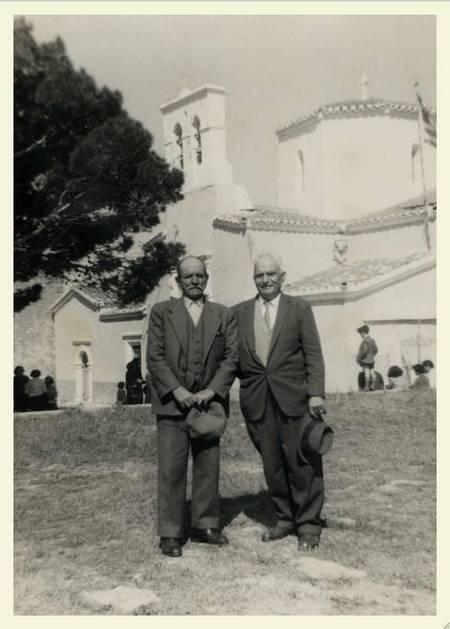 Vrettos Alfieris at Agios Theodoros