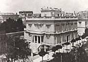 The Benaki mansion in 1911.