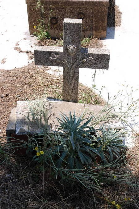 Unknown grave marker- Potamos Cemetery