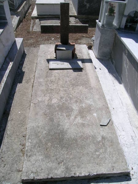Manolis Paspalas family plot, Ag. Anastasia (1 of 2)