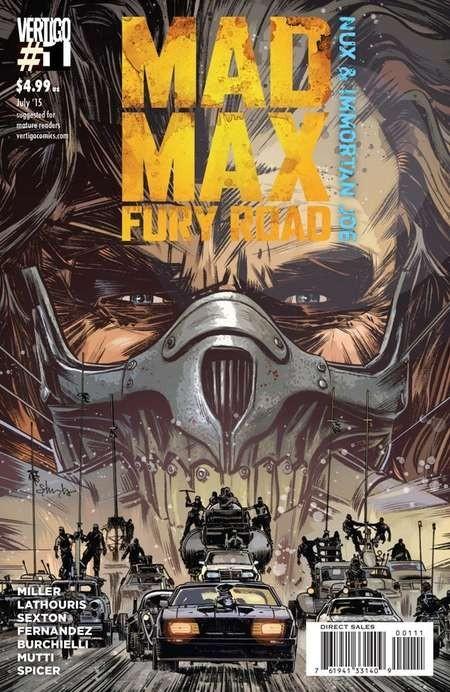 Vertigo for the DC Fan: Mark Sexton Introduces the Mad Max: Fury Road Comic - MMFR Nux Immortan Joe