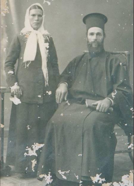 Karavitiko Symposium, Sydney. - Pappa Vangelli Kritharis and wife