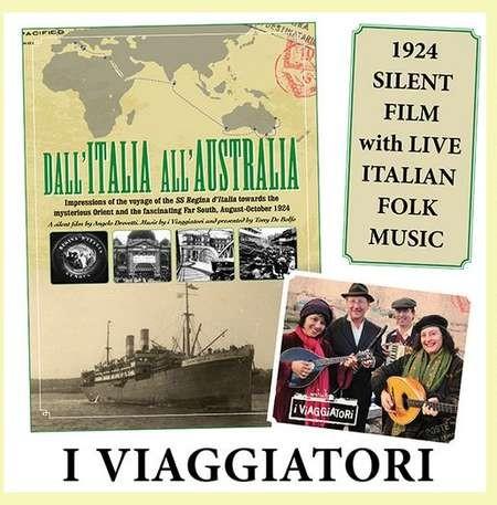DVD of the film Dall' Italia All' Australia - Dall' Italia All' Australia
