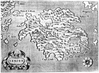 Map from 1585