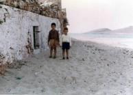 Brothers Jim and Theodore Aroney at Diakofti in 1966