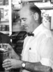 Theo Souris, partner with Peter Venardos in the Acropolis Cafe, Gunnedah, NSW