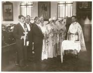 Alex Feros marries Thelma Thirlwell - Greek Orthodox wedding, Darlinghurst, Sydney NSW.