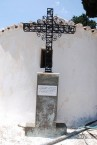 Cross at Potamos Cemetery