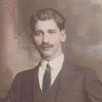 Bretos Margetis as a young adult 1910's