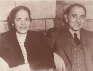 My Grandparents Agapi and George Lianos later in life - in1942.