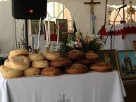 Urto aplenty at the feast day of Ayios Haralambos