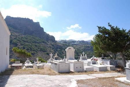 Agios Spyridon, Kapsali Cemetery