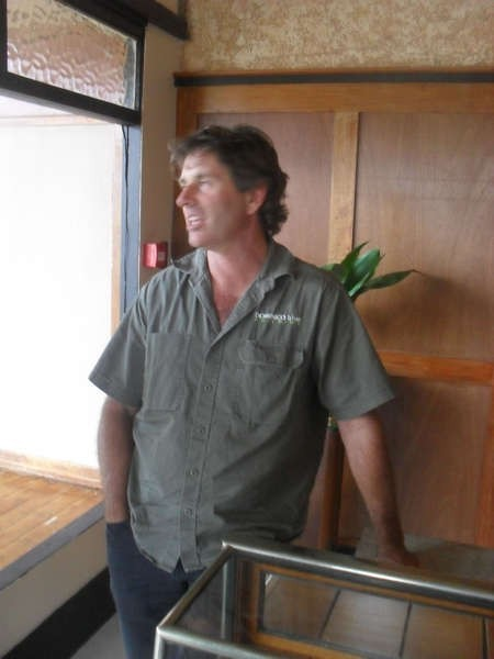 Tim Russell, builder and principal of the company Dominico Blue