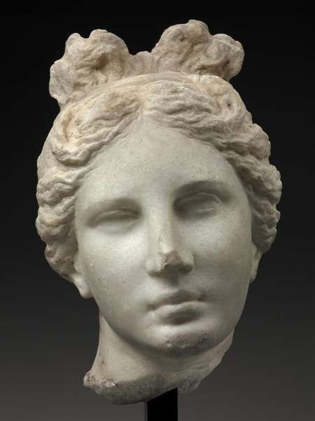 Head of Aphrodite - Head of Aphrodite (The Bartlett Head), Greek, 330-300 BC