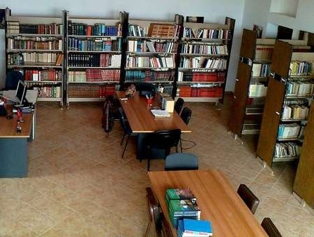 Kytherian Municipal Library. - Interior of Library