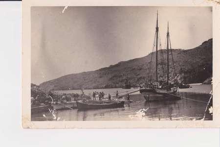 Kapsali harbour in the 1920's