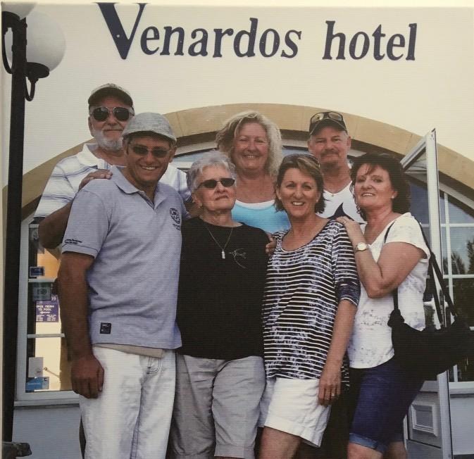 Venardos Family Get together at Agia Pelagia