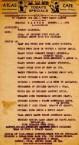 Easter 1938 menu at the Atlas Cafe Highland Park, Michigan