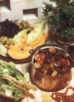 Lamb stew with zucchini