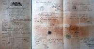 Vasilis Chlentzos Passport 1838