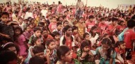 Children in India aided by Clary Castrission's 40K Foundation