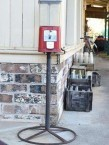 Bubblegum dispenser to the milk crates outside Cyril Robinsons milk bar