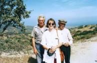 Nick Venardos, Barbara, Peter Souris - 4/10/1994