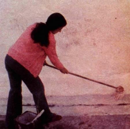 Housewife at Capasali...1976...