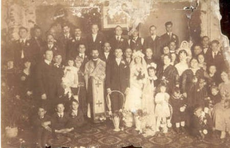 Theodore and Mary Gavrilis wedding