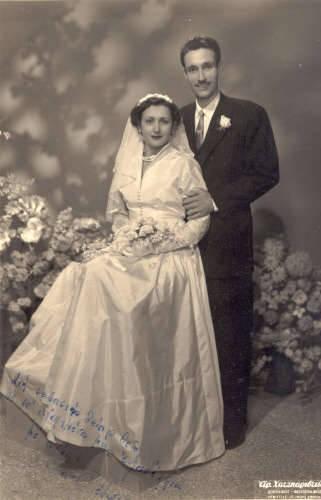 Wedding of Theodore P . and Voula Gavrilis