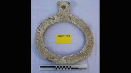 Another of the treasures uncovered from the Antikythera shipwreck, 2015