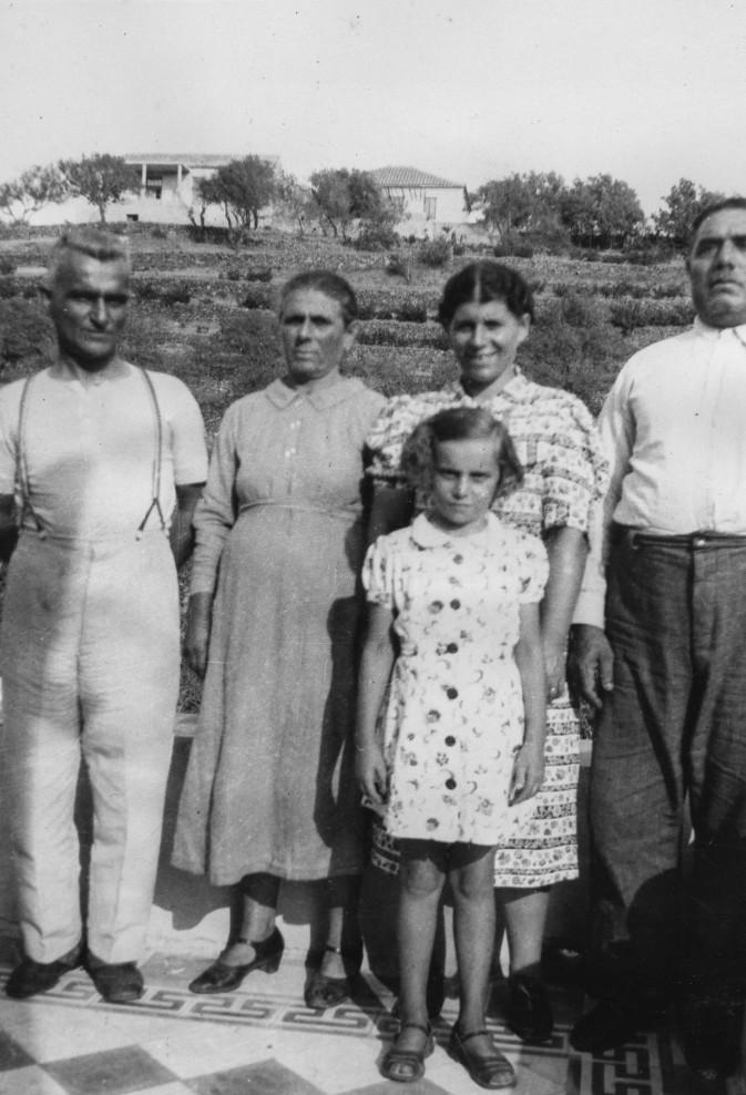 Bylos family at Karavas