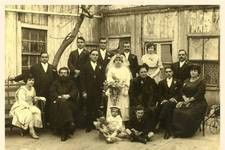 This is a photo of the wedding of Vrettos Alfieris (1890-1974) to 